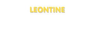 Der Vorname Leontine