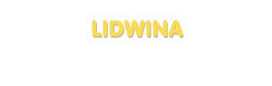 Der Vorname Lidwina