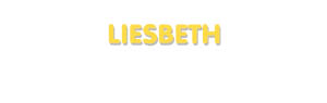 Der Vorname Liesbeth