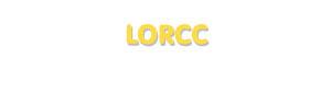 Der Vorname Lorcc