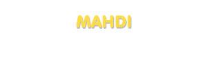 Der Vorname Mahdi