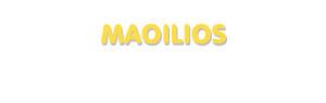 Der Vorname Maoilios