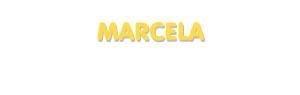 Der Vorname Marcela