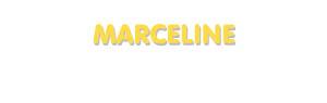 Der Vorname Marceline