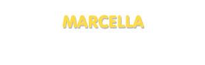Der Vorname Marcella
