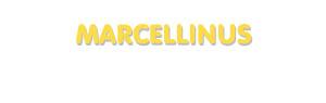 Der Vorname Marcellinus