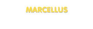 Der Vorname Marcellus