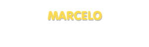 Der Vorname Marcelo