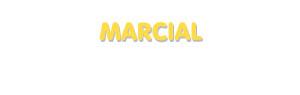 Der Vorname Marcial