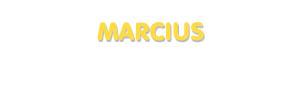 Der Vorname Marcius