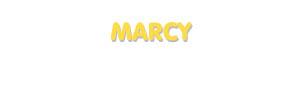 Der Vorname Marcy