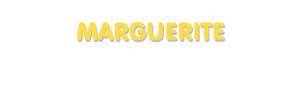 Der Vorname Marguerite