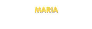 Der Vorname Maria