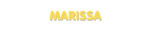 Der Vorname Marissa