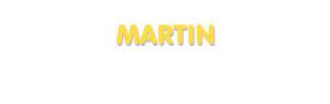 Der Vorname Martin