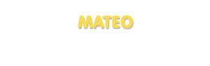 Der Vorname Mateo