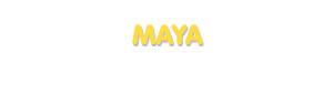 Der Vorname Maya