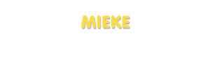 Der Vorname Mieke