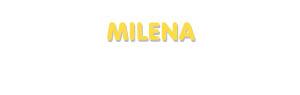 Der Vorname Milena