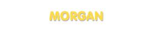 Der Vorname Morgan