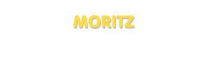 Der Vorname Moritz