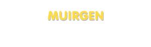 Der Vorname Muirgen