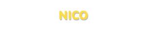 Der Vorname Nico