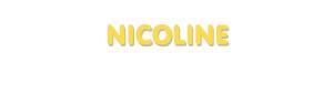 Der Vorname Nicoline