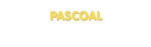Der Vorname Pascoal