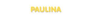 Der Vorname Paulina