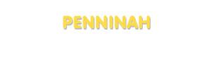 Der Vorname Penninah