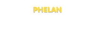 Der Vorname Phelan