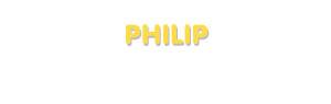 Der Vorname Philip