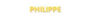 Der Vorname Philippe