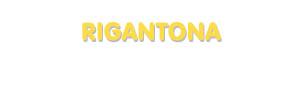 Der Vorname Rigantona