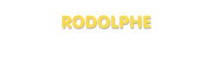 Der Vorname Rodolphe