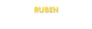 Der Vorname Ruben