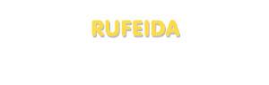 Der Vorname Rufeida