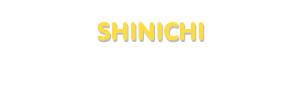 Der Vorname Shinichi