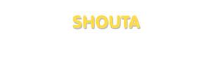Der Vorname Shouta