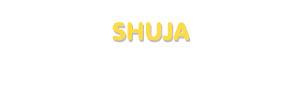 Der Vorname Shuja