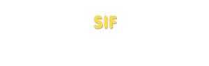Der Vorname Sif