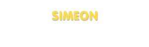 Der Vorname Simeon