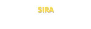 Der Vorname Sira