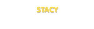Der Vorname Stacy
