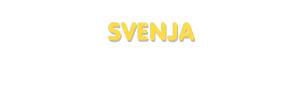 Der Vorname Svenja