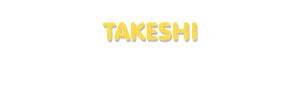 Der Vorname Takeshi