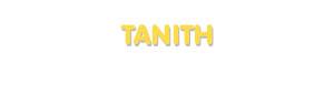 Der Vorname Tanith