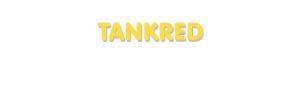 Der Vorname Tankred