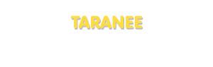 Der Vorname Taranee